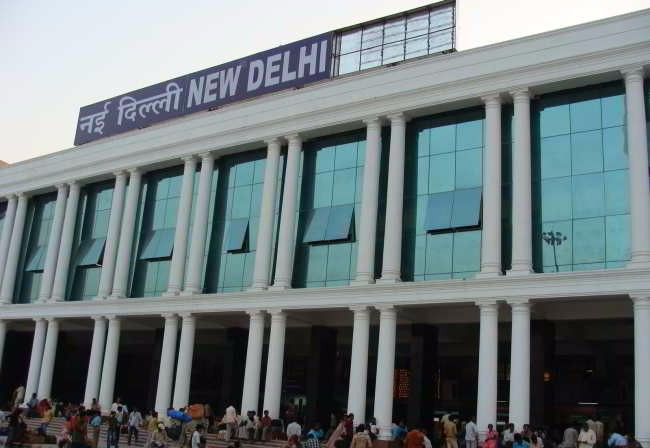 biggest railway station in india