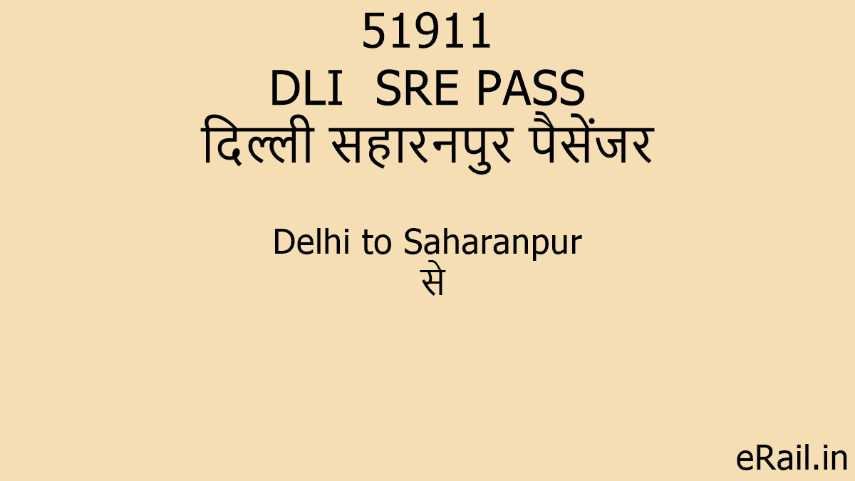 Learn These Rishikesh To Delhi Train Live Running Status {Swypeout}